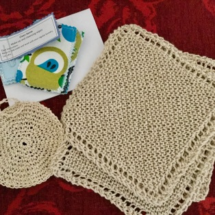 Hemp dishcloths