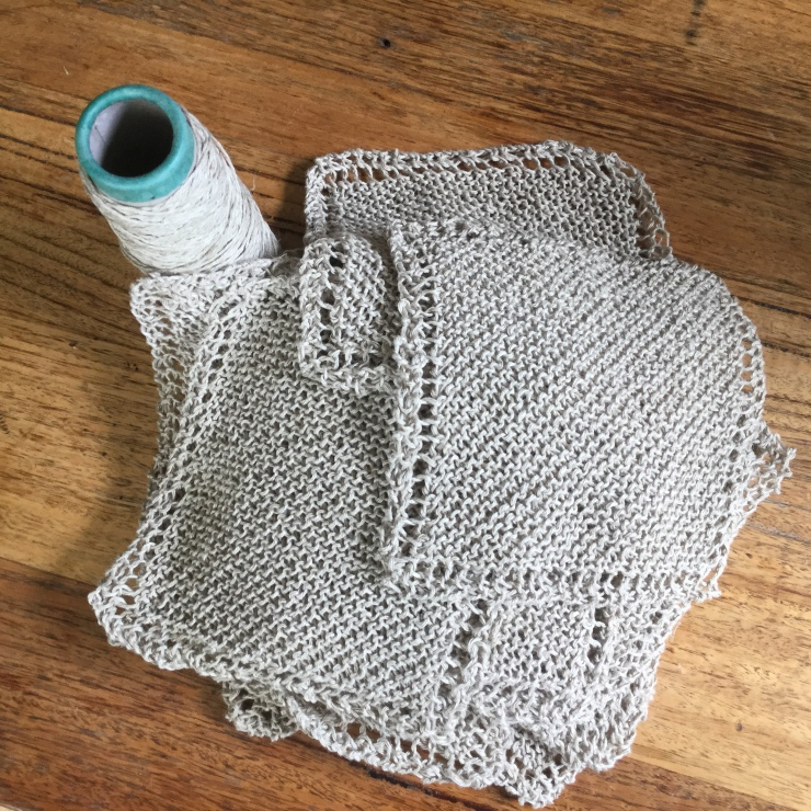 Hemp yarn dishcloths